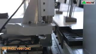 MÁY KHOAN NGANG CNC OPTION TRỤC CƯA XẺ RÃNH HOLZTEK