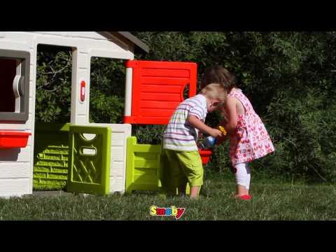 Spielhaus Mit Sommerküche : Smoby spielhaus friends günstig online bestellen✓