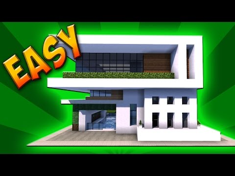 Emaan Eastwood Modern House In Minecraft Small