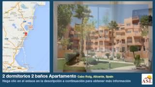 preview picture of video '2 dormitorios 2 baños Apartamento se Vende en Cabo Roig, Alicante, Spain'