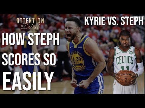 ed21f0044d2 CURRY vs KYRIE  An All-Time Shooting DUEL - BBALLBREAKDOWN - Video ...