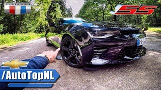 2017 Chevrolet Camaro SS REVIEW POV Test Drive FOREST ROAD & AUTOBAHN by AutoTopNL