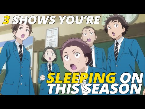 3 Shows You're Sleeping on This Season | Fall 2019 on Funimation