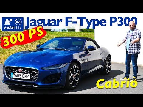 2020 Jaguar F Type P300 Cabriolet   Fahrbericht der Probefahrt  Test   Review