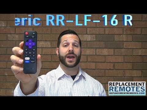 TCL RC280 CBS Roku TV Remote Control