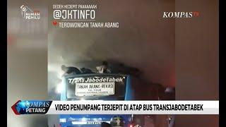 Direktur Utama Transjakarta Beri Tanggapan Terkait Penumpang Terjepit di Atas Bus