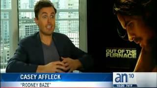 3-2-1 Acción -- Maria Salas entrevista a Casey Affleck de Out Of The Furnace - América TeVé
