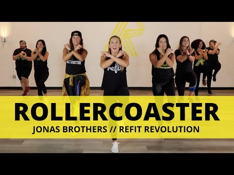 """Rollercoaster"" || Jonas Brothers || Dance Fitness Choreography || REFIT® Revolution"