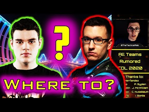 All NEW Roster Rumors! - London CoD Confirmed!    CDL Rostermania News & Rumors    CoD: MW