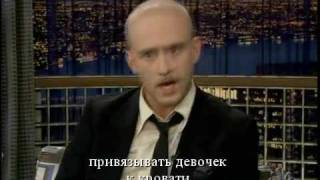 Бен Фостер, Ben Foster on Late Night with Conan O'Brien - Russian sub (русские субтитры)