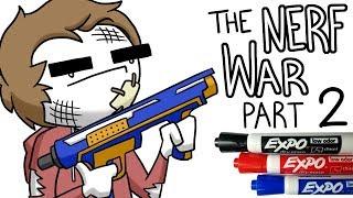 The Great High School Nerf War - Part 2
