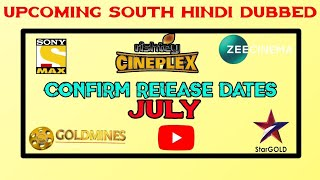 July - 5 Upcoming New South Hindi Dubbed Movie Confirm Release Dates | Encounter Raja Hindi Dubbed