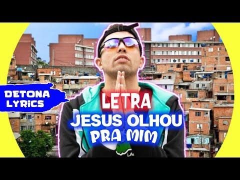 MC Marks - Jesus Olhou Pra Mim (Letra Oficial)