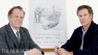 Will Ferrell & John C. Reilly Enter The New Yorker Cartoon Caption Contest   The New Yorker