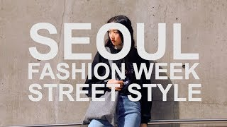 Best Korean Street Style From Seoul Fashion Week FW2018/2019 | Whatakdrama