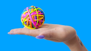 15 DIY SIMPLE LIFE HACKS WITH RUBBER BANDS