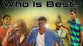 Who is the best actor in kollywood? youtube poll online