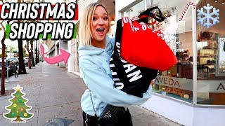 I finally went christmas shopping!! Vlogmas Day 6