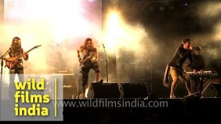 Nightmares band from Sikkim rocks Nagaland at Hornbill Rock Contest : The Trooper