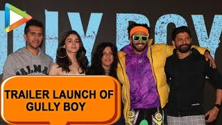 Gully Boy Trailer Launch - Part 3 | Ranveer Singh | Alia Bhatt | Zoya Akhtar| Farhan Akhtar