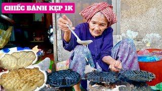 Chiếc Bánh Kẹp 1000 Đồng Của Cụ Bà 93 Tuổi Duy Nhất Ở Việt Nam