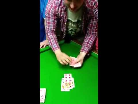 Drunk Guys Incredible Card Trick