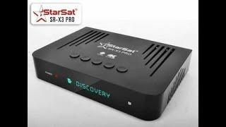 مراجعة رسيفر ستار سات STAR SAT SR X1 PRo 4K بنظام اندرويد