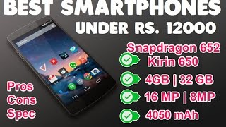Best Smartphones Under Rs 12000