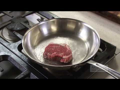 The Exact Way to Cook a Frozen Steak