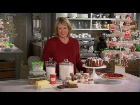 Christmas Baking Basics with Martha Stewart