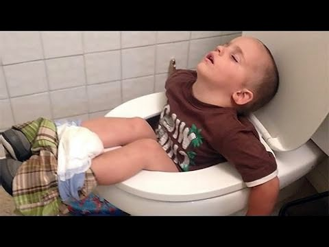 Funny Babies and Kids Who are falling Asleep in Awkward Situations