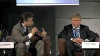 Carlos at the ITU Telecom 2009 Panel on Cybersecurity Part III