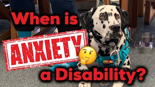When is Anxiety a Disability?