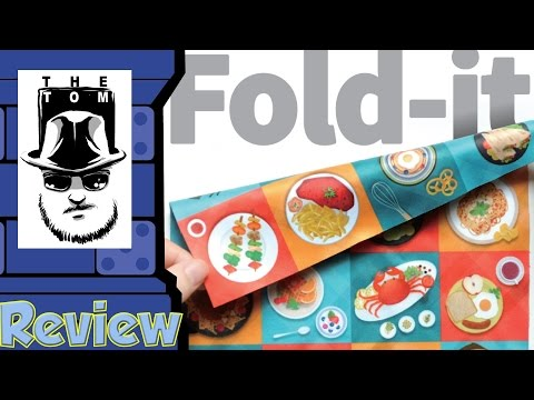 Fold-It Review - with Tom Vasel