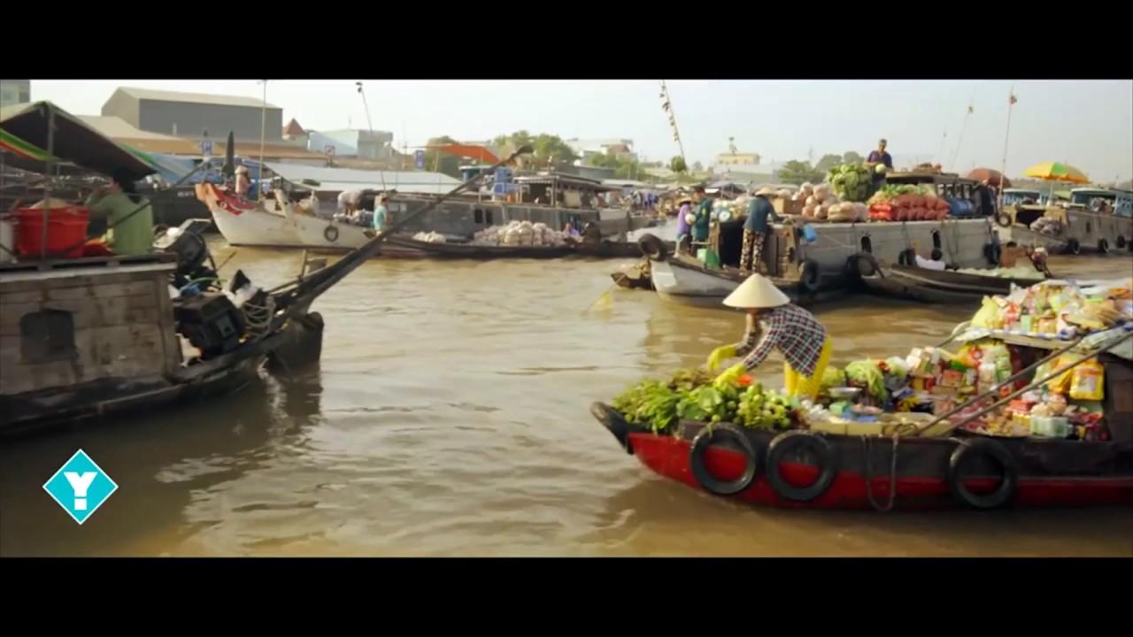 ADV Mekong-Delta: Bootsfahrt Markt
