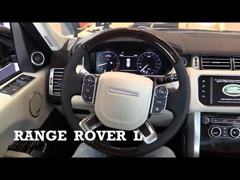 2017 Land Rover Range Rover L - interior Review