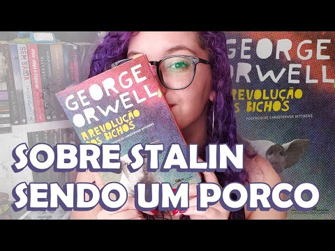 A REVOLUÇÃO DOS BICHOS, de George Orwell || RESENHA || Romanceira
