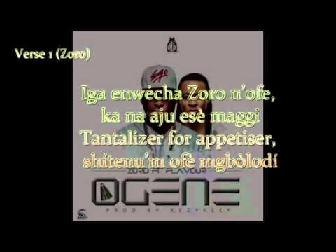 Zoro - Ogene Feat Flavour Video