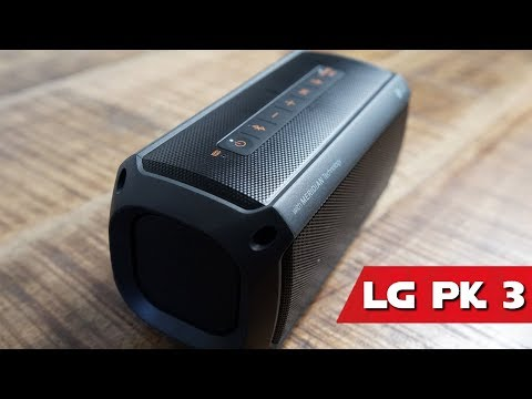 LG XBOOM GO PK3 BLUETOOTH LAUTSPRECHER TEST ►Unter 100€ , Smart & Meridian Technologie (deutsch)