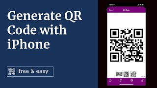 How to make a QR code on iPhone 2020? iPhone QR Code Generator - Free