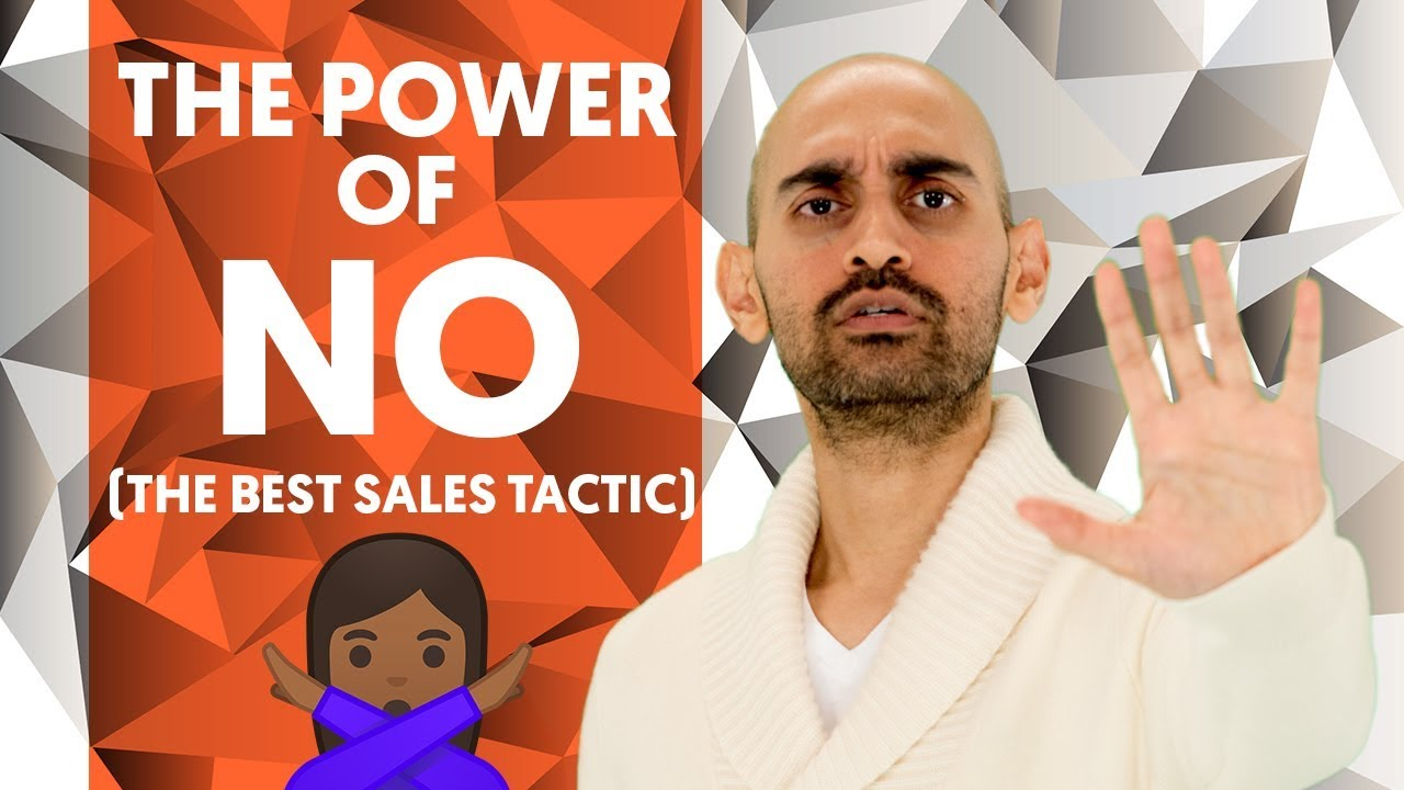 The Power of No – The Best Sales Tactic