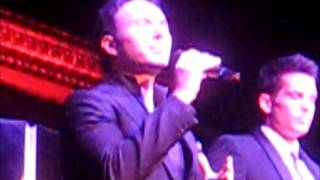 """""""Lullaby"""" by The Tenors (formerly The Canadian Tenors) at the Cutting Room on Jan 15 2013"""