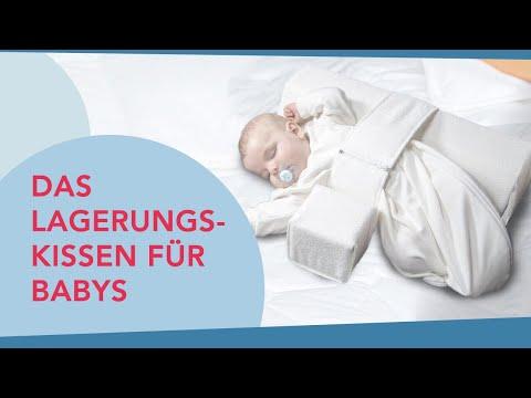 Das Lagerungskissen für Ihr Baby - Anlegen der Seitenlagerungsschiene