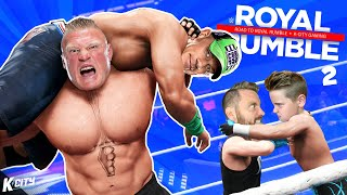 Greatest of ALL TIME!!!  (Road to WWE Royal Rumble Part 2!) K-CITY GAMING
