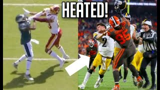 NFL Most Heated Moments of The 2019-2020 Season    HD