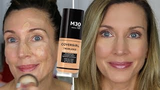 Foundation Friday Over Fifty ~  CoverGirl Matte Made Review + Wear Test