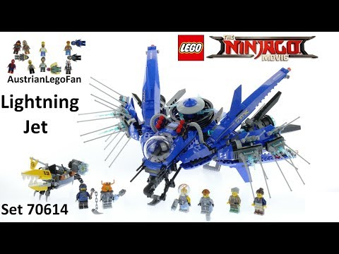 Vidéo LEGO Ninjago 70614 : Le Jet supersonique de Foudre