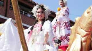 preview picture of video 'Desfile de las Mil Polleras Las Tablas 2013'
