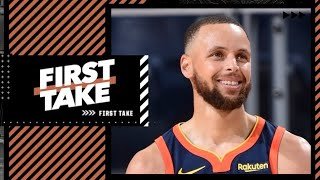 Does Steph Curry's extension mean the Warriors are a threat to win the West next year?   First Take