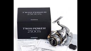 Катушку shimano 11 twin power 2500